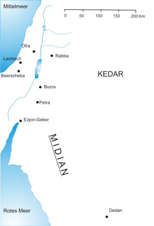 Midian by Janz wikimedia commons