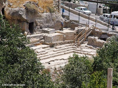 pool-of-siloam-excavations-from-west-tb070305501b-bibleplaces
