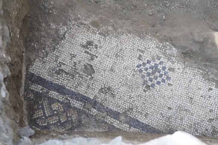Bethsaida el-araj byzantine mosaic
