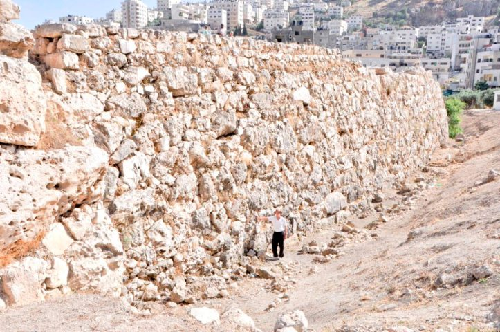 Massive MB Fortification Wall at Shechem COMPRESSED