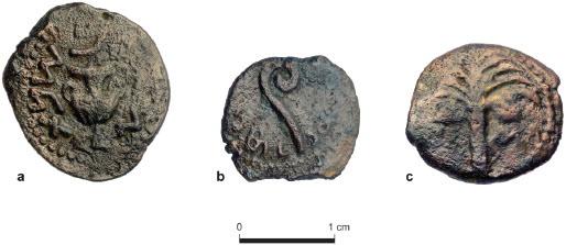 Pontius Pilate Road coins