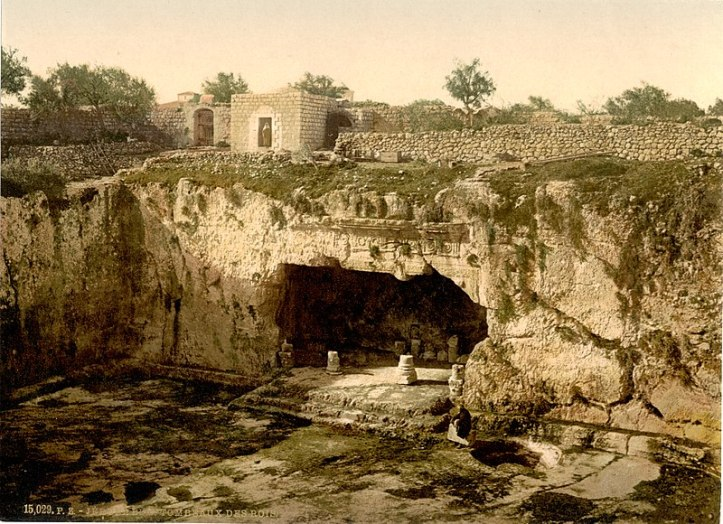 800px-Tombs_of_the_kings,_Jerusalem,_Holy_Land-LCCN2002725016