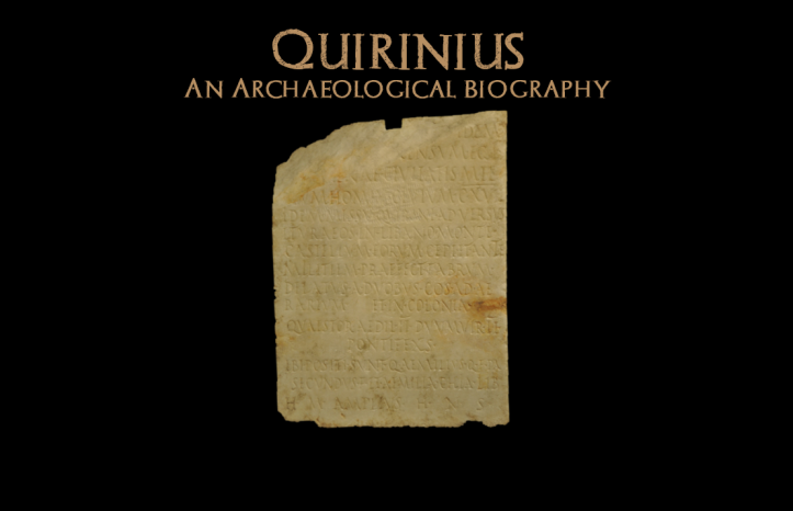 Quirinius blog banner