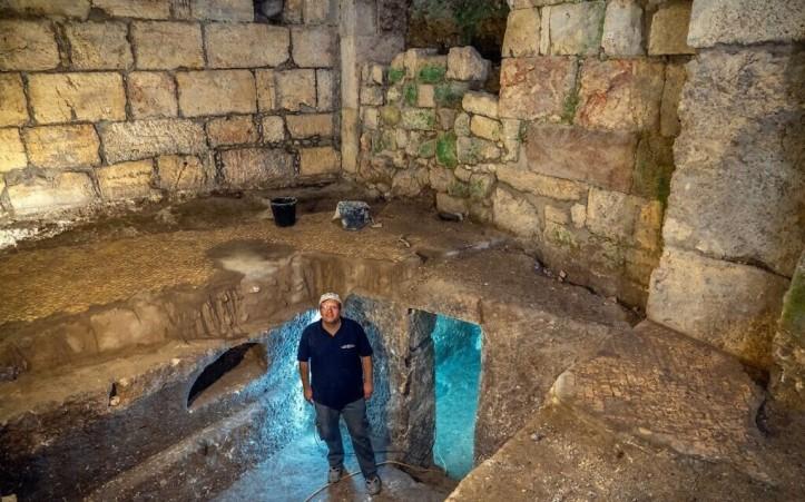 Underground Complex Near Western Wall