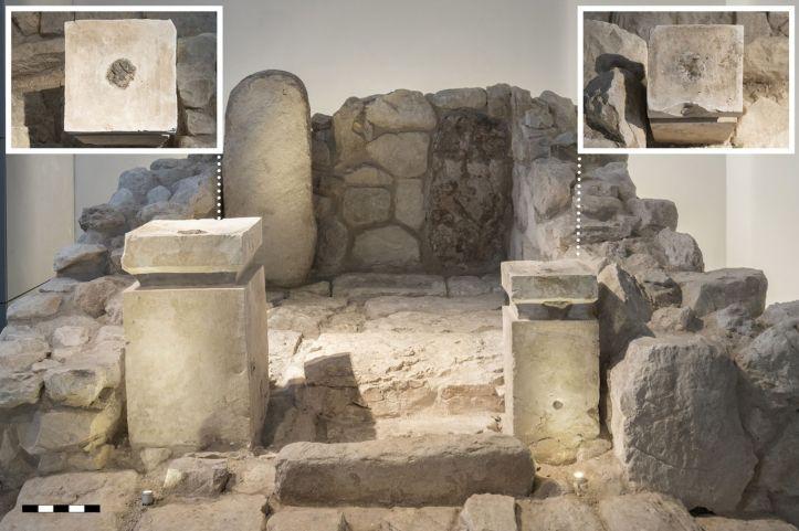 arad temple altars