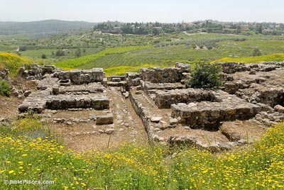 Gezer-Solomonic-gate-from-north-tb040607304-bibleplaces